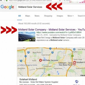 SolarTEK Midland Rankings